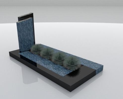 Grafsteen Tollebeek bij Weerstand Grafmonumenten