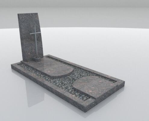 Grafsteen Urk in Himalaya graniet