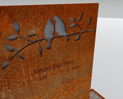 Grafmonument Lemmer detail