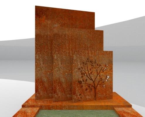 Grafmonument Steenwijk vooraanzicht