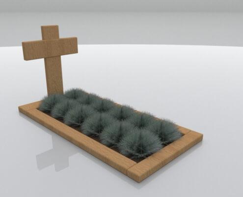 Grafmonument Zwartsluis eikenhout