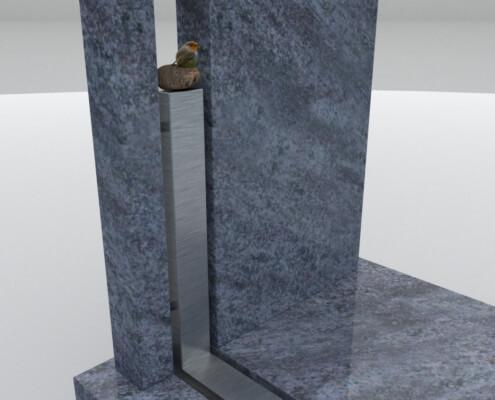 Grafsteen Kuinre detail