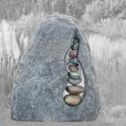 Zwerfkeien en rotsen Weerstand Grafmonumenten