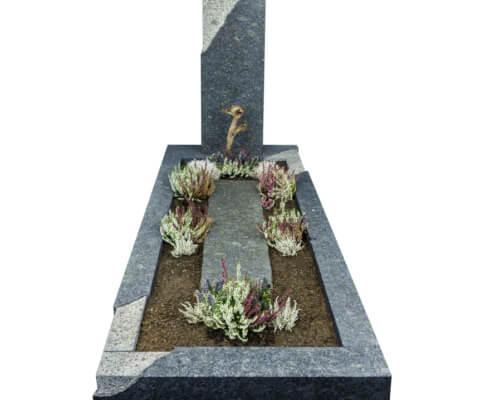 Grafsteen Langelille