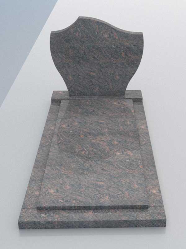 Aanbieding grafsteen Himalaya graniet