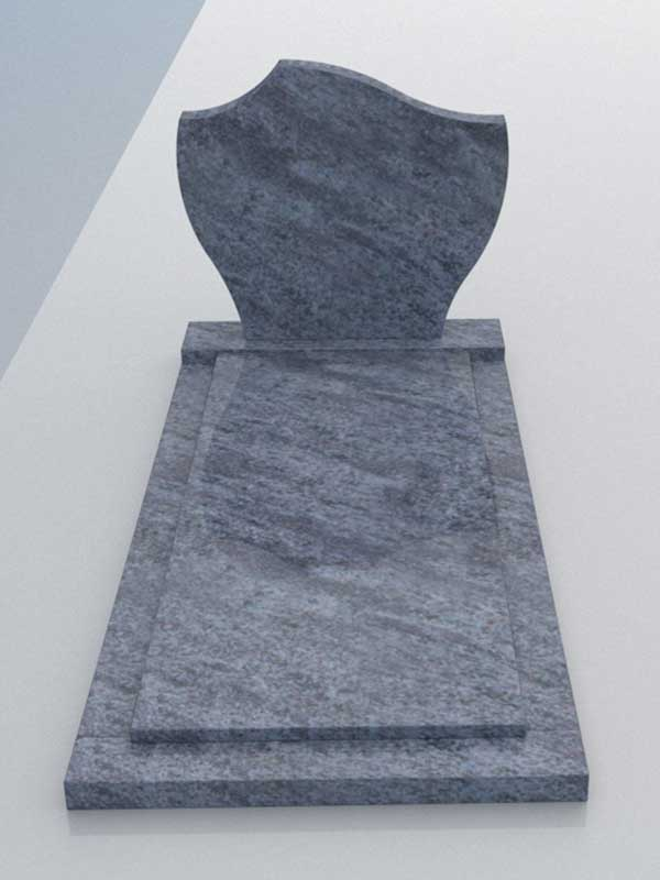Aanbieding grafsteen Orion Blue graniet