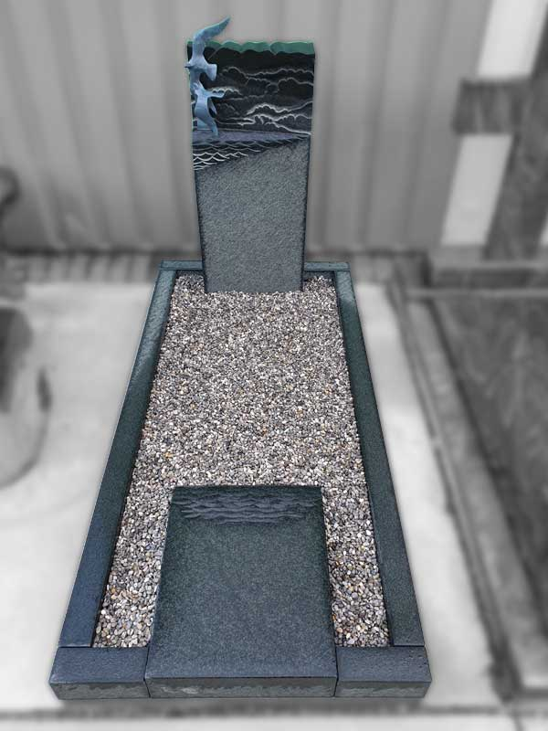 Grafsteen Noordscheschut