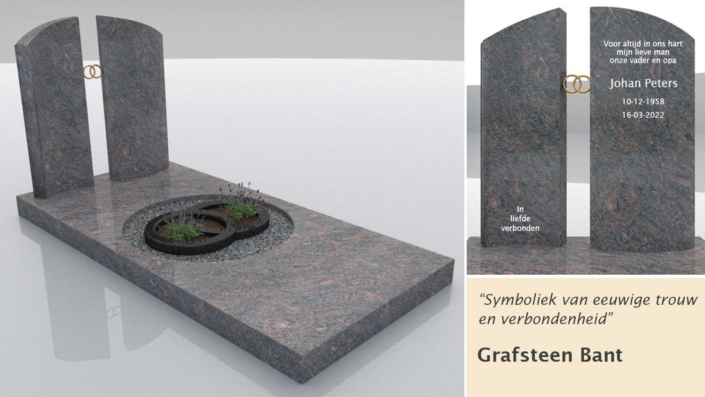 Grafsteen Bant in Himalaya graniet
