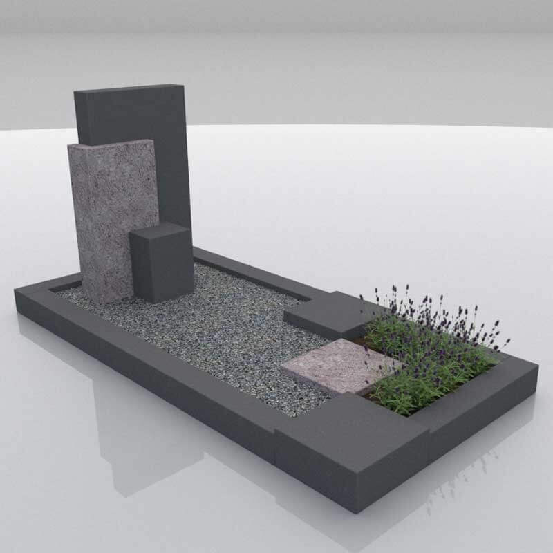 Grafsteen Noordoostpolder