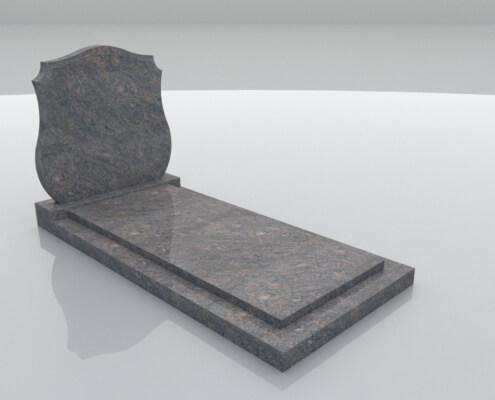 Grafsteen Eemdijk in Himalaya graniet