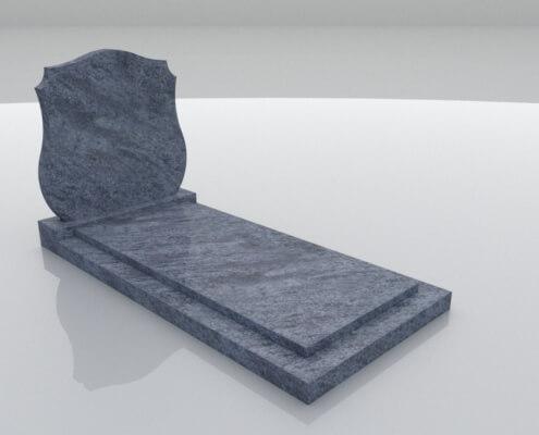 Grafsteen Eeemdijk in Orion graniet