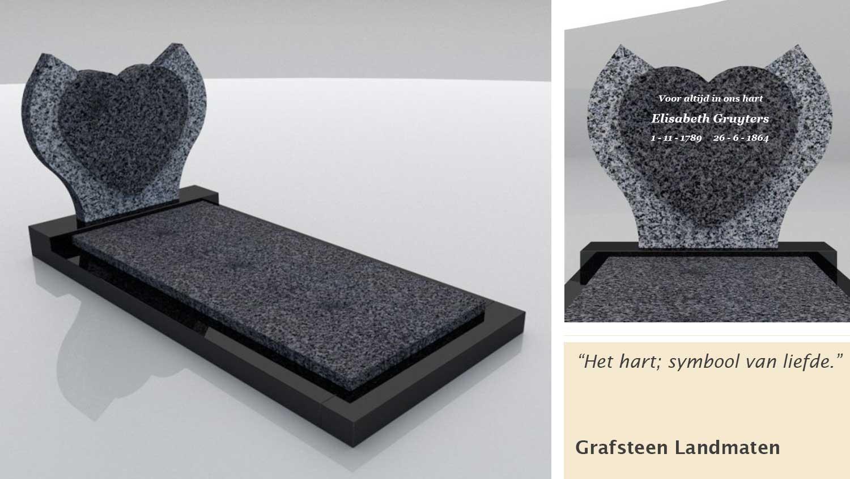 Grafsteen Landmaten
