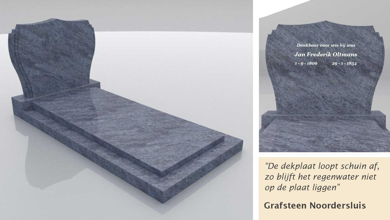 Grafsteen Noordersluis