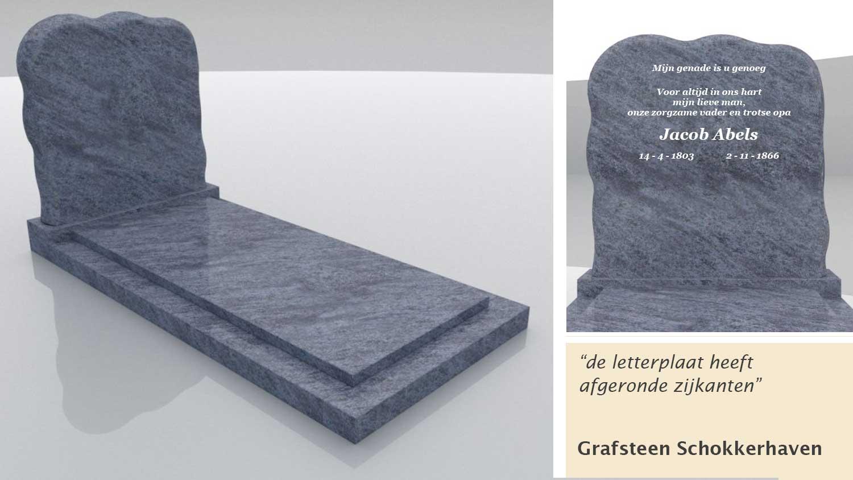 Grafsteen Schokkerhaven