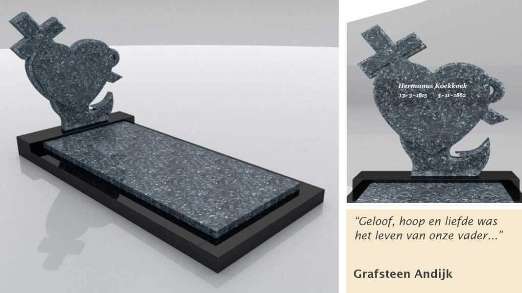 Grafsteen Andijk