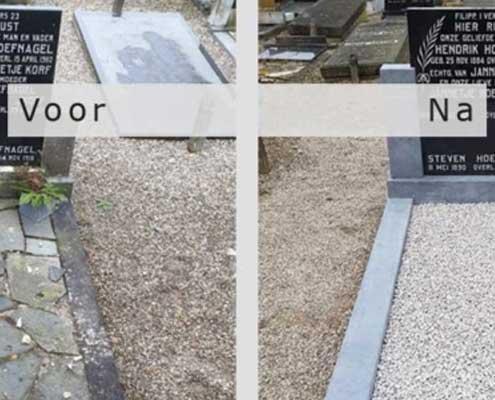 Grafsteen renoveren